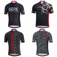2019 gore cycling short jersey men pro team Bicycle shirt Summer MTB bike maillot velo homme clothes clothing top