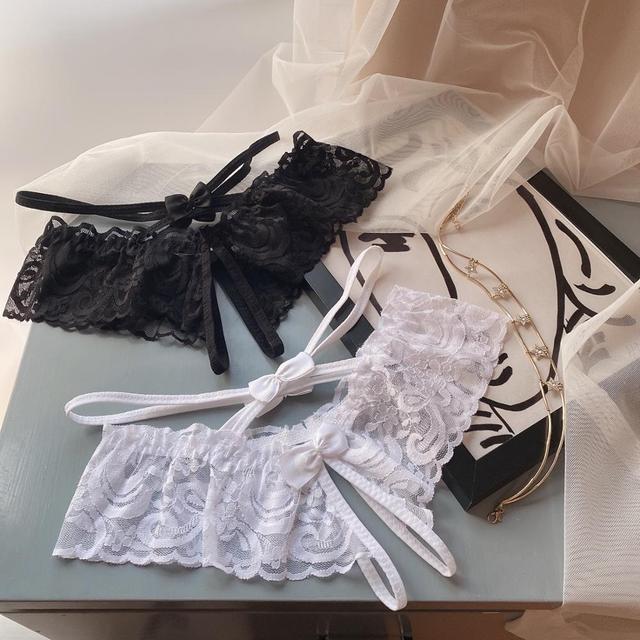Kobiety seksowna bielizna erotyczne otwarte majtki z kroczem koronkowe przezroczyste krocza bielizna kalesony koronkowe seksowne stringi gorąca sprzedaż