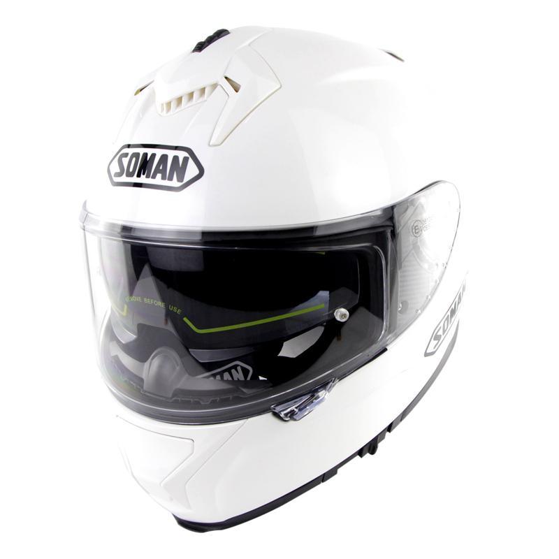 Casque moto rcycle course casque équitation hommes et femmes casque moto cross Double lentilles compatibles avec lunettes casco moto