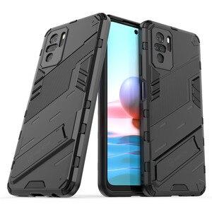 Image 1 - PUNK etui na telefon do Xiaomi Redmi Note 10 etui na Xiaomi Note 10 okładka pancerz PC odporny na wstrząsy silikonowy zderzak ochronny do Note 10