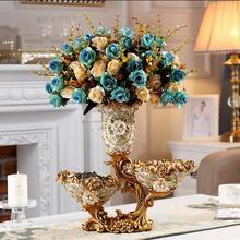 European Luxury Vase Setting Table Creative Multifunctional Flower Arrangement Living Room Retro Decoration