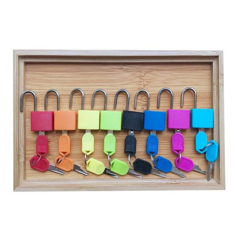 Brinquedos de madeira infantil colorido bloqueio conjunto
