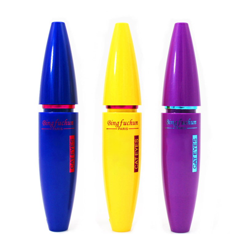 1Pc Makeup Mascara Long Thick Curling Lengthening Make Up Eyes Curling Waterproof Non Staining Grind