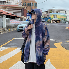 Autumn New Camo Jacket Men Fashion Printed Casual Hooded Man Streetwear Wild Hip Hop Loose Bomber Male Clothes