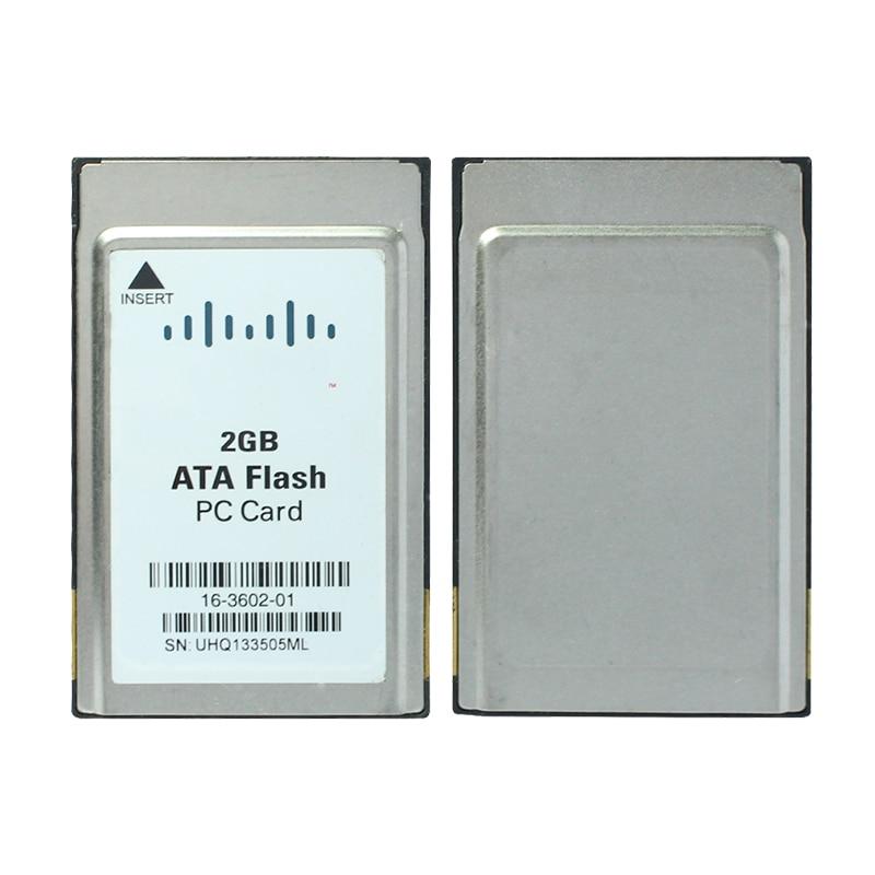 Original!!! PC Card 16M 24M 64M 2G Industrial Equipment Memory Card ATA Card PCMCIA FLASH Card PC Card Memory 68Pin