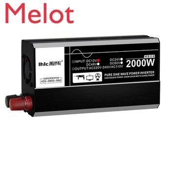 2000W3000W6000W7000W pure sine wave inverter 12V24V48V60V to 220V automotive solar home