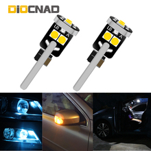 цена на 2x W5W T10 Canbus Car LED Light Auto Interior Bulb Dome Lamp For opel astra h j g k insignia corsa d zafira a b vivaro vectra c