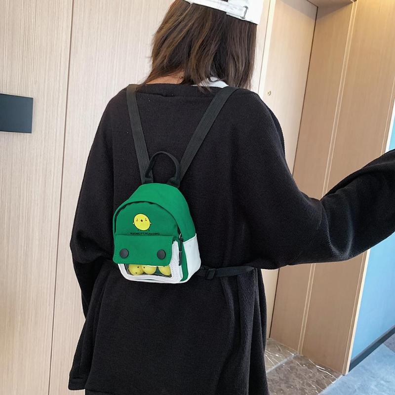 Hot Sale Backpacks Wear-resistant Korean Schoolbag Women Kids Student Cartoon Cute Backpack Small Travel Knapsack Daily Shopping
