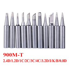 11pcs/lot 900M-T Soldering Tip Welding Sting Soldering Bit Solder Iron Tips for 936 937 8586 BGA Rework Tools