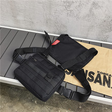 Chest Bags for Men Tactical Outdoor Multifunctional Leisure Waterproof and Wear-resistant Mountaineering Bag Mobile Phone Bag