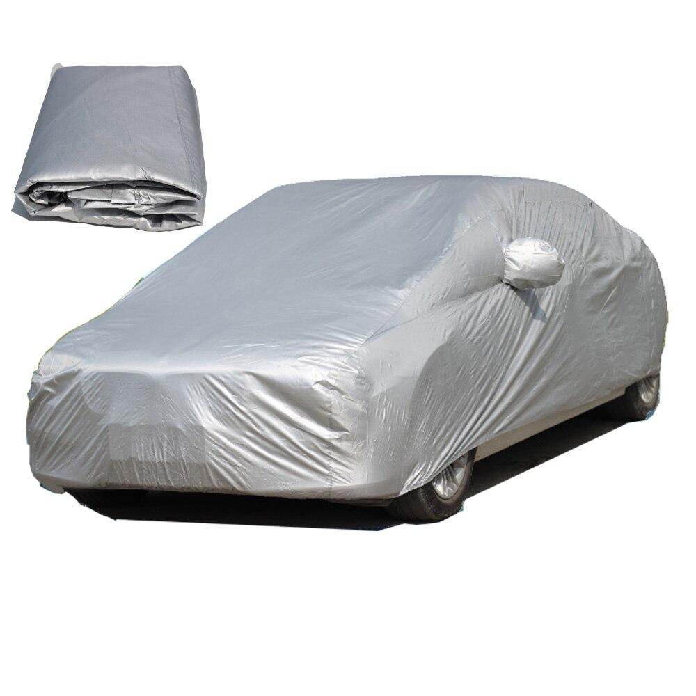 Cubierta Universal impermeable completa para el coche cubierta de protección contra el sol al aire libre protección contra el polvo lluvia nieve hielo protector para Sedan S/ m/L/XL/XXL