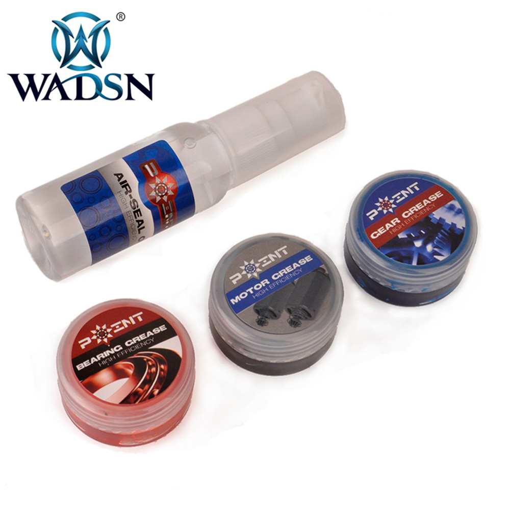 WADSN Tactical Lubricating Oil High Efficiency Air-seal Lubricating Oil For Airsoft Bearing Cup Gear Grease Paintball Accessory