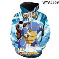New Games Pokemon Fashion Casual Boy Girl Kids 3D Printed Hoodies Sweatshirts Men Women Children Long Sleeve Streetwear Jacket 6