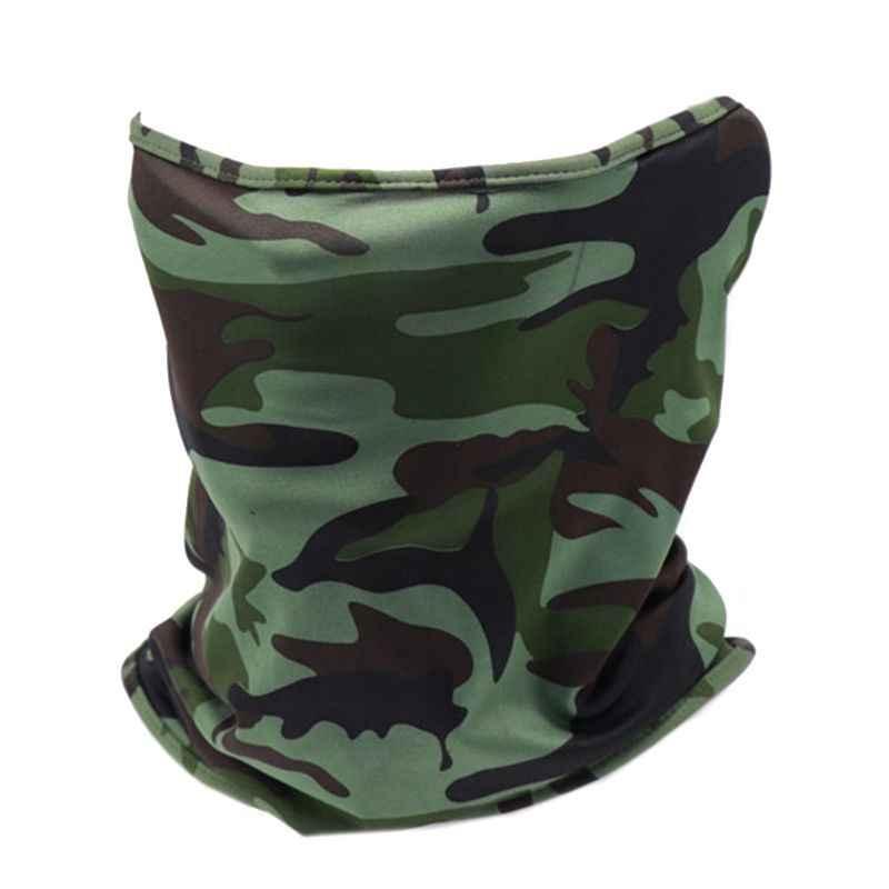 Bandana Tube Face Headwear Head Neck Gaiter Camouflage Biker Scarf Wraps