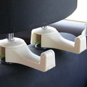 Image 5 - Universal Car Headrest Hook 5kg Max Car Back Seat Hanger with Phone Holder for Bag Handbag Purse Grocery Cloth Easy Install