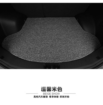wire loop Custom special car trunk mats for Land rover Discovery Freelander Range Rover EVOQUE waterproof durable cargo carpets