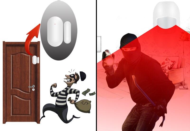 wireless door open detector