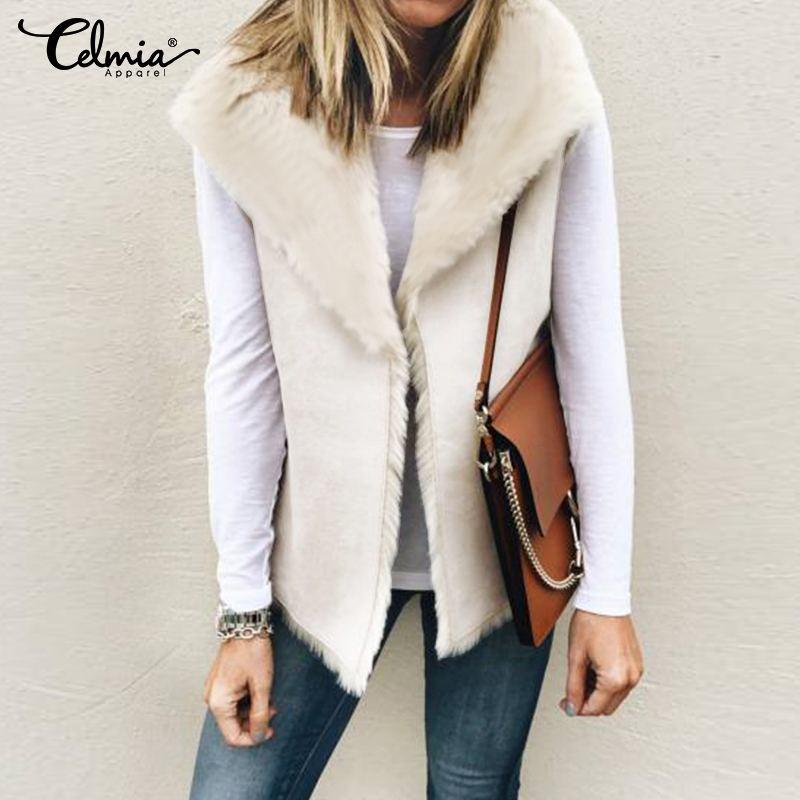 MMCP Womens Leopard Print Fluffy Winter Warm Hoodie Faux Fur Coat Cardigan Outerwear