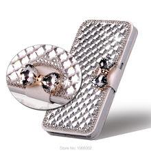3D Arc Cristal Diamant Bling Étui En Cuir pour Samsung Galaxy A50 A70 A30S A21S A31 A41 A51 A71 A90 A42 A12 A52 A72 A32 5G 4G
