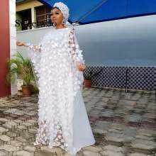 2 шт женское платье с вышивкой в африканском стиле