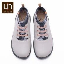 UIN Herbst/Frühling Elastische Knöchel Mode Stiefel Frauen/Männer Mikrofaser Wildleder Komfort Flache Schuhe Outdoor Stiefel Große Größen leichte