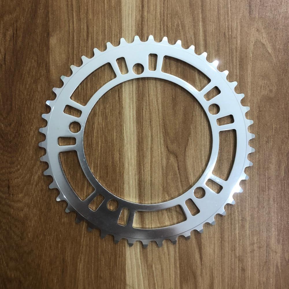 fixie bike Chainring  Single speed bike Chainwheel 46T 170mm aluminum Fixed Gear Bike Crankset
