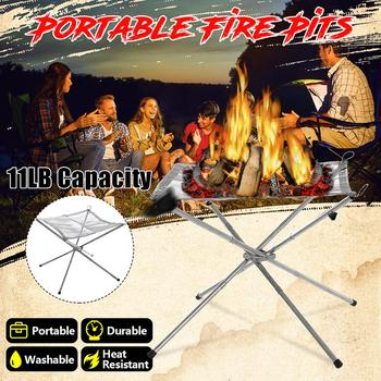 Portable Mesh Fire Pit  1
