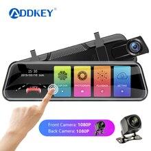 Автомобильный видеорегистратор ADDKEY, зеркало заднего вида, видеорегистратор era avtoregistrator 10 ips, сенсорный экран, Full HD 1080 P, Автомобильный видеорегистратор, видеорегистратор
