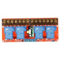 4 channel 250VAC 30A Solid State Relay Module Board High/Low Level Trigger|Relais|   -