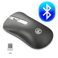 Bluetooth Mouse Wireless Rechargeable Mouse Computer Ergonomic Mice Silent Mini PC Mause