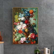 60x80cm Big Size Flower Fruit Famous Oil Painting on Cancas wall Art Poster Picture For Entrance and Living Room Home Decoration