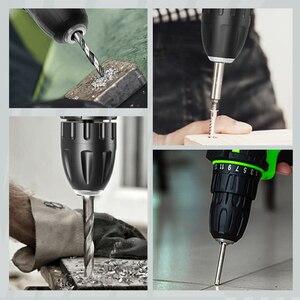 Image 3 - YIKODA destornillador eléctrico de 16,8 V, Taladro Inalámbrico, batería de litio recargable de doble velocidad, Mini controlador, herramientas eléctricas para el hogar