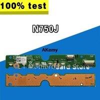 Original For ASUS N750J N750JK N750JN N750JV N750JA Small Indicator Board LED Board Tested Well