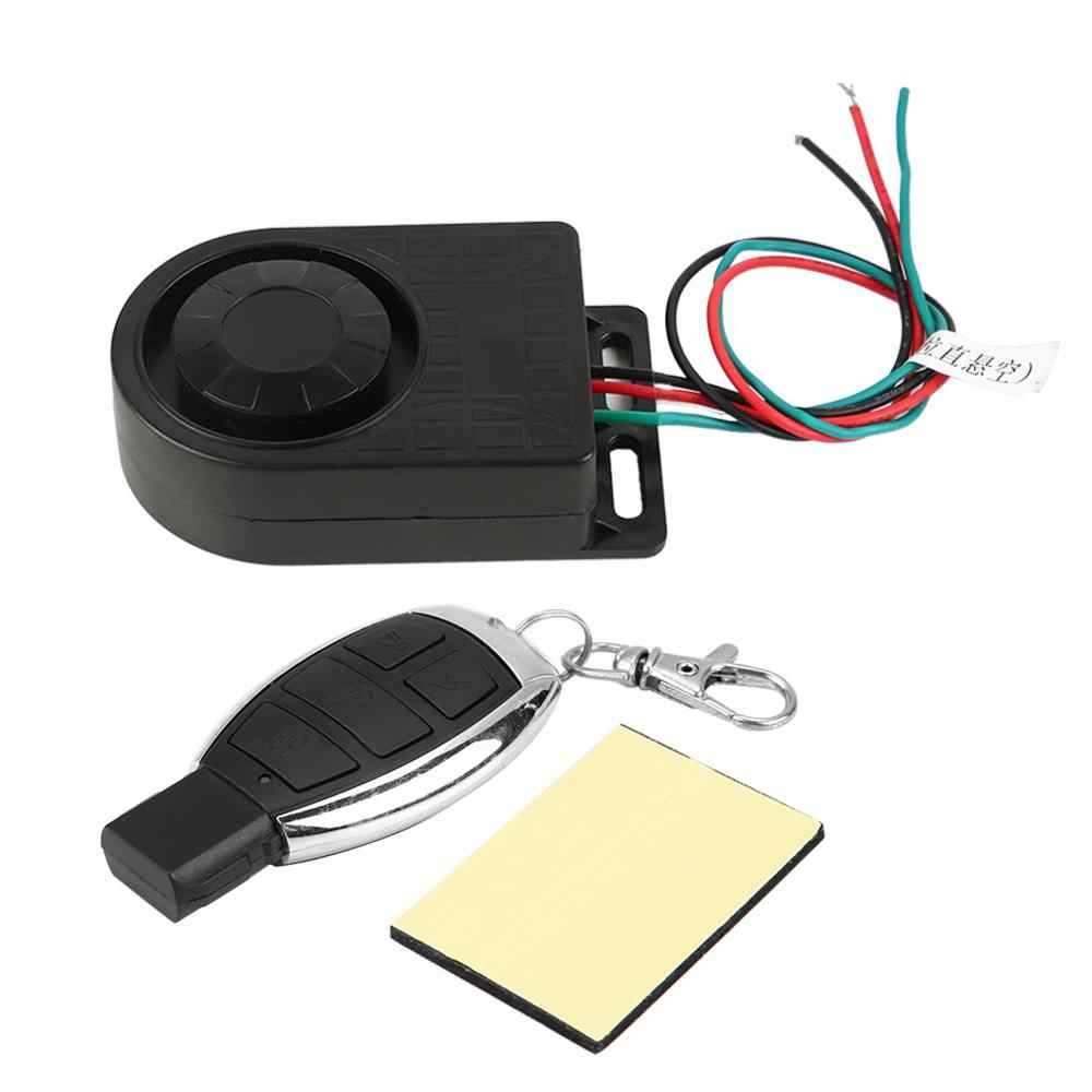 Motorcycle Anti-theft Security Alarm System with Remote Control 9-16V Universal Motorcycle Anti-theft Remote Control