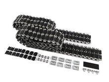 ماتو 1/16 M1A2 أبرامز RC خزان المسارات المعدنية مع المطاط منصات MT201 TH00907-SMT4