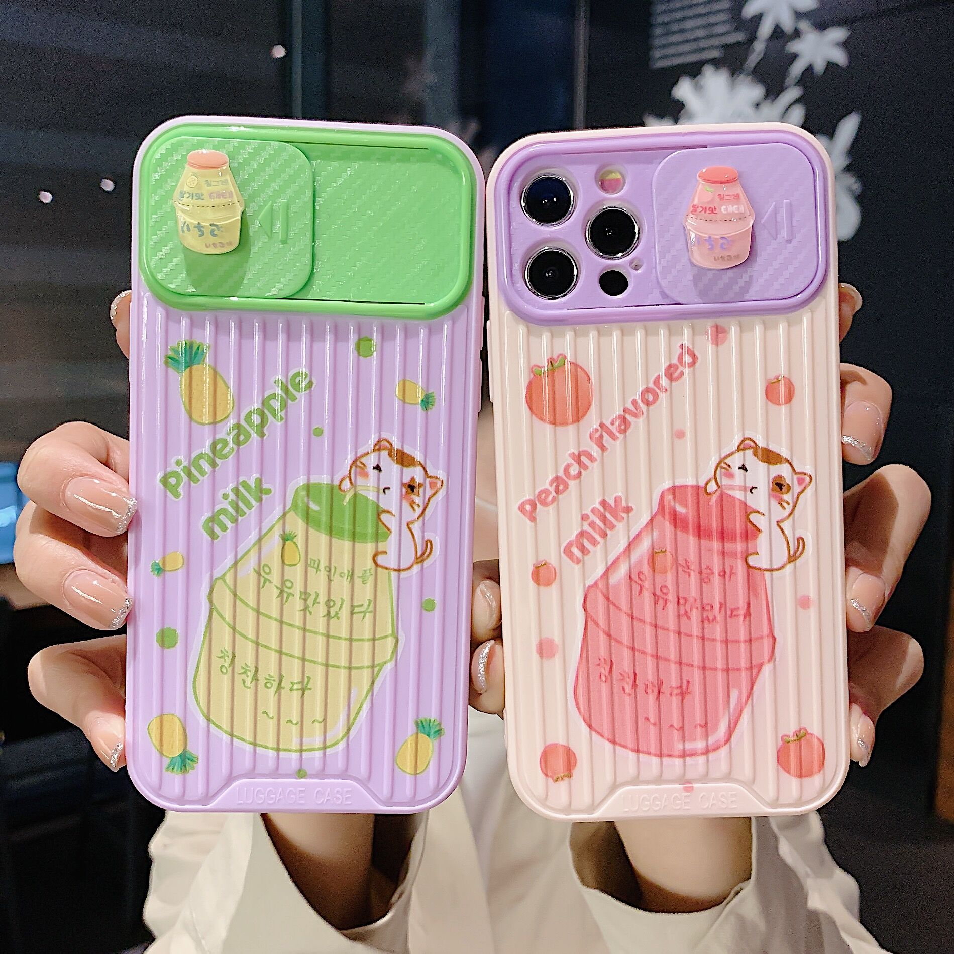 3D Cute Camera Lens Protection Phone Case On For Iphone 12 11 Pro Max 12 Mini 8 7 Plus Xr X Xs Max SE 2020