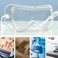 Safety Goggles Full Enclosed Anti-Fog Anti-Splash Dustproof  Anti-Saliva Impact Resistance Glasses Myopia Wearable Safety Goggle