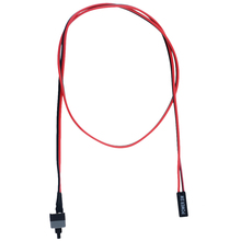 5PCS 50cm Long Power Button Switch Cable for PC Switches Reset Computer Power Momentary Automatically Reset Push Button SW