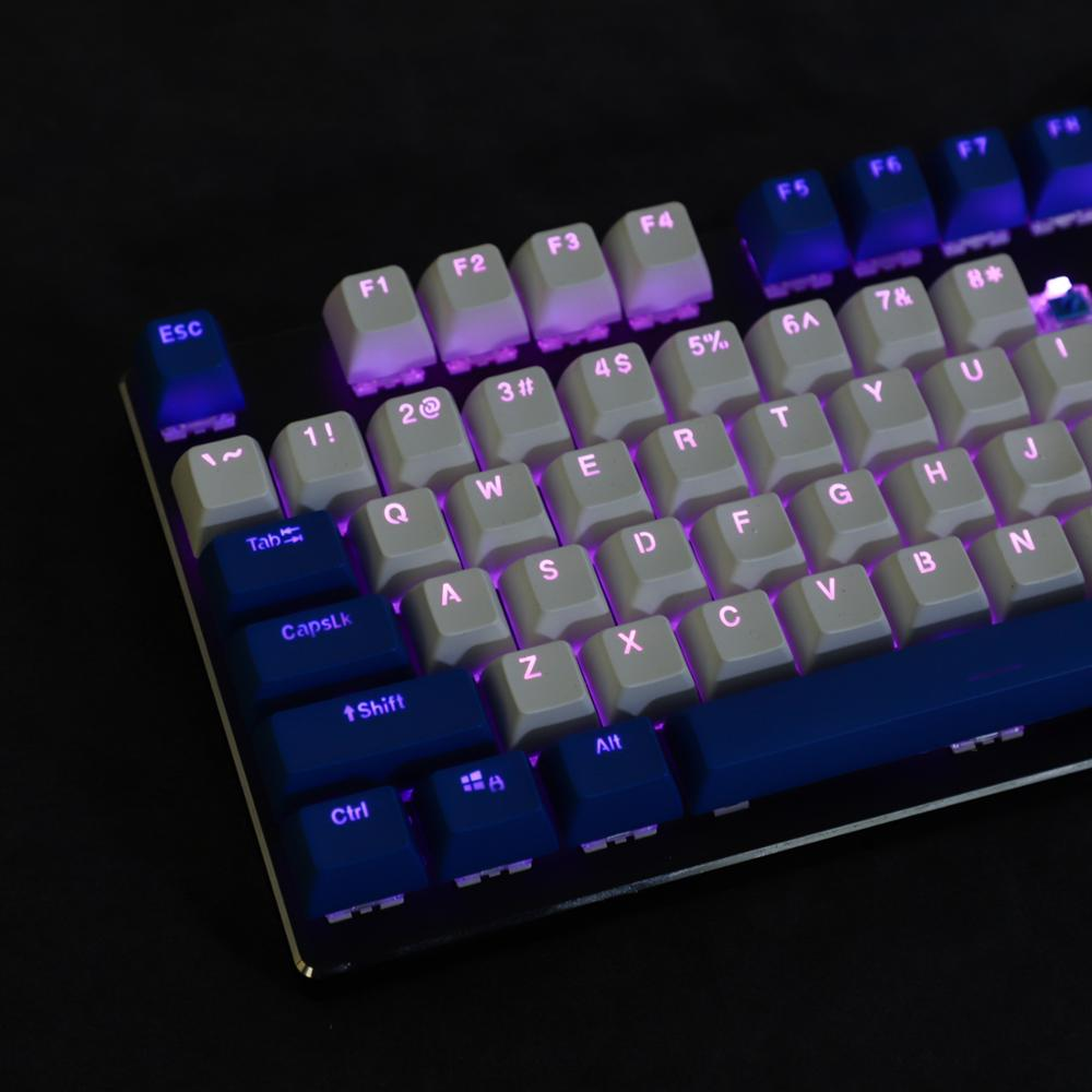 Image 4 - 104 Key SA Profile Double Shot Shine Through Dolch PBT Ball Shape Keycaps Suitable For Standard MX Switches 104 87 61Keyboards   - AliExpress