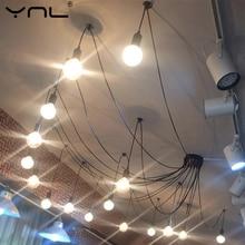 Lámpara colgante de luz de techo Retro nórdico moderno lámpara colgante antigua