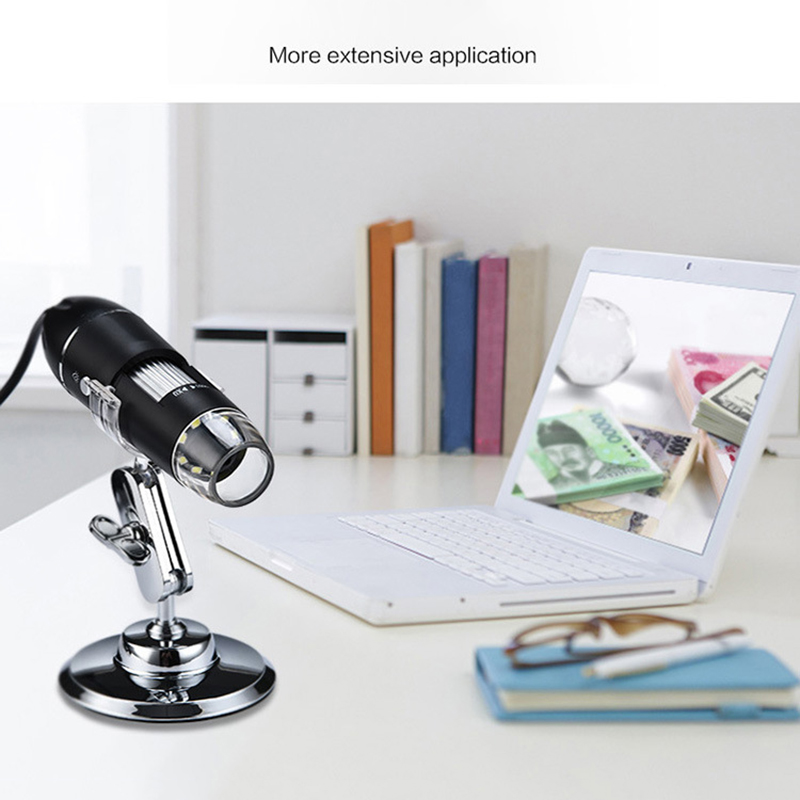 Multifunctional Digital Microscope 1600X High Definition USB Micro Scope Camera ALI88