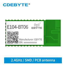 BLE4.2 Bluetooth Module IBeacon 2.4GHz 3dBm E104-BT06 CDEBYTE PCB Antenna Broadcast Wireless Transceiver Receiver UART SmartHome