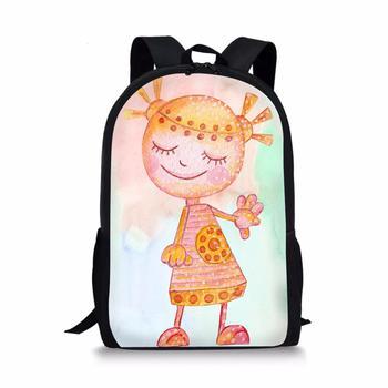 Cartoon Custom pattern New School Bag Children Backpack Boy Girl Student 3D Printing Offload Backpac