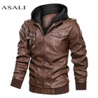 Men Hooded Autumn Wi...