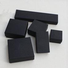 Черная Подарочная коробка ювелирных изделий: Стильное женское