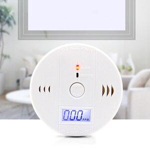 CO детектор угарного газа сигнализация 85 дБ ЖК Портативный безопасности Газа CO монитор Питание от батареи (батарея не входит в комплект)