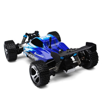 Wltoys A959 Rc Car 1:18 2.4Ghz 4WD Off Road Vehicle 50km/h Radio Control Car Crawler Toys with 2 Battery Model RTR Toys