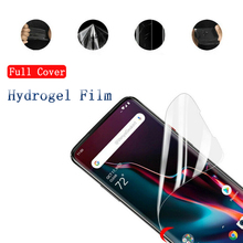 Hydrogel Film for Oneplus 7 pro phone HD Screen Protector film For OnePLus6 6T 7Pro 5 5T Full Cover OnePLus 6t 7Soft