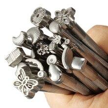 20 шт кожаных рабочих седл делая инструменты DIY Craftool Кожа ремесло штампы набор