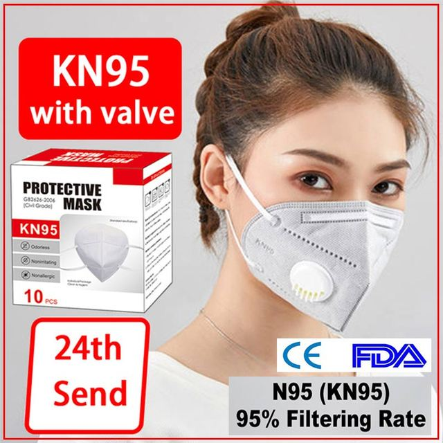 n95mask-3m Reusable Respirator Facemask Mascarillas Women Men Fashion face-mask-protective ffp3mask-n95 kn95mask-kids 3